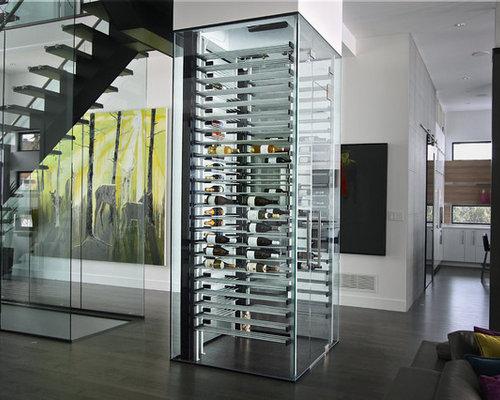 Weinkeller einrichten modern  Disappearing. Weinkeller modern einrichten - Bilder & Ideen | HOUZZ