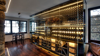 Contemporary Ultra Custom Cellar in Beaconsfield, Quebec