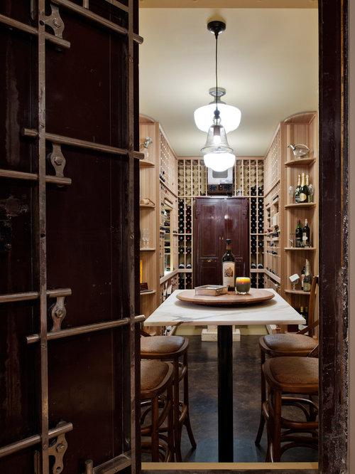 Custom Wine Cellar Door Home Design Ideas, Pictures, Remodel and Decor