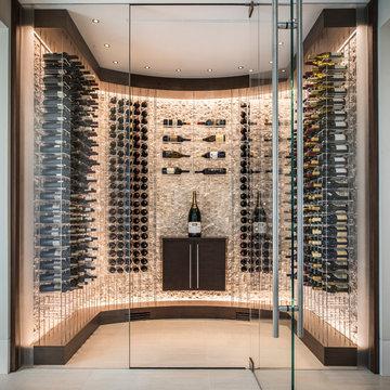 Contemporary Wine Cellar