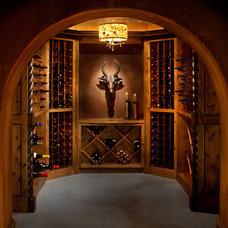 Contemporary Wine Cellar Contemporary Wine Cellar