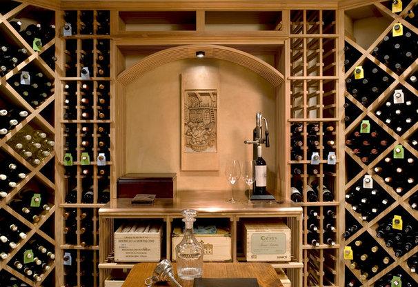 Farmhouse Wine Cellar by Crisp Architects