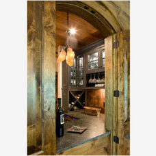 Eclectic Wine Cellar by Mia Silverman