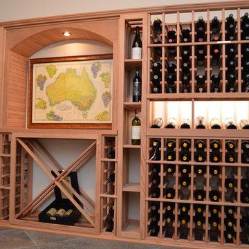 Custom Built Wine Display