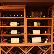 Traditional Wine Cellar by Whole Cellar