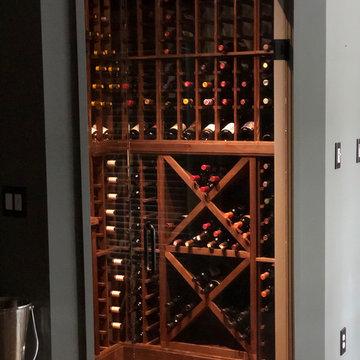 Custom Home Cellar with Vintner Series