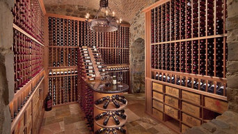 Custom Mahogany Wine Cellar in Arizona