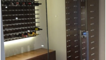 Custom Metal Wine Racks