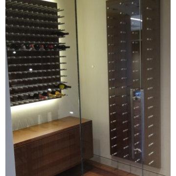 Custom Metal Wine Racks