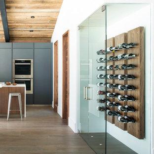 Custom Modern wine display