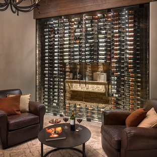 Custom Rustic Wine Cellar in Scottsdale, AZ