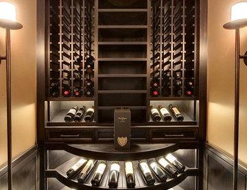Custom Walk-In Wine Cellar