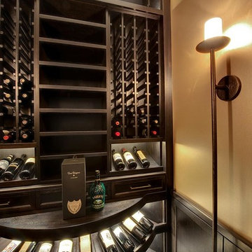 Custom Walk-In Wine Cellar