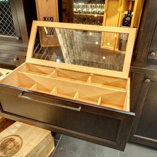 Design ideas for a victorian wine cellar in Chicago.
