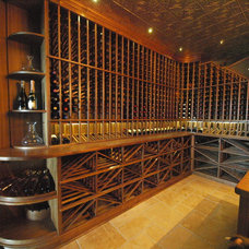 Traditional Wine Cellar by Koolspace Wine Cellars