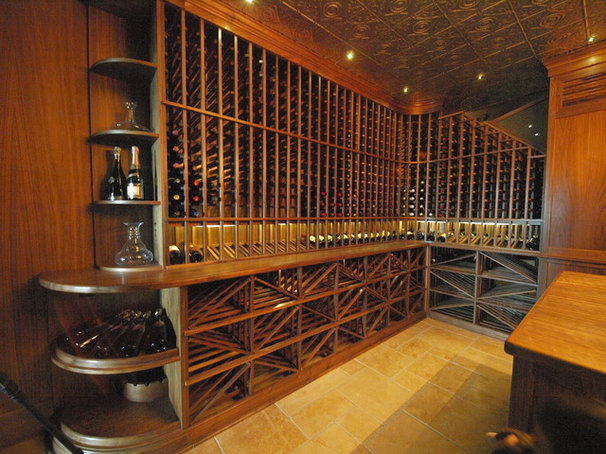 Contemporary Wine Cellar by Koolspace Wine Cellars