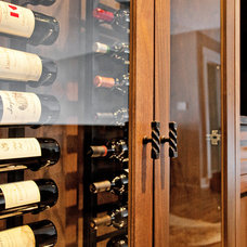 Transitional Wine Cellar by Madison Taylor