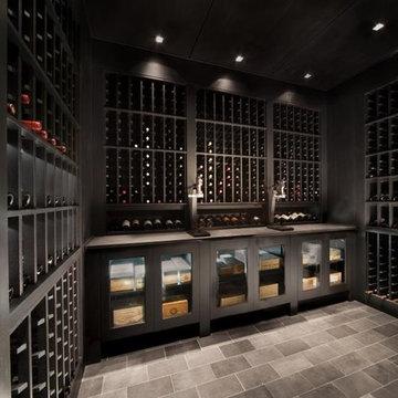 Custom Watermill Wine Cellar
