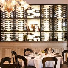 Modern Wine Cellar by Degre 12 - Custom Wine Cellars
