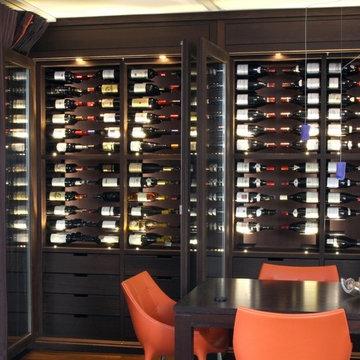 Custom Wine Cabinet - Wenge