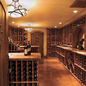 Custom Wine Cellar - Arlene, ID