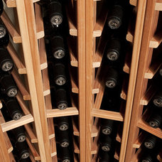 Traditional Wine Cellar by Blue Grouse Wine Cellars