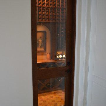 Custom Wine Cellar Design Newport Beach Orange County Rustic Modern Wine Room Ho