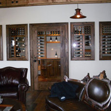 Traditional Wine Cellar by Wine Cellars by Coastal