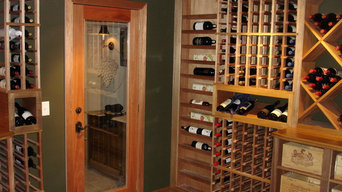 Custom Wine Cellar Doors