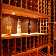 Traditional Wine Cellar by Heritage Vine LLC