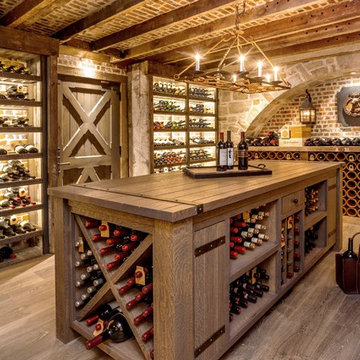 Custom Wine Cellar in Maryland