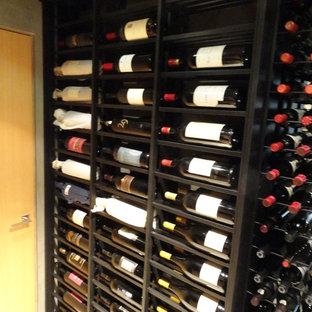 Custom Wine Cellar Malibu Los Angeles California VintageView Racking Wine Room