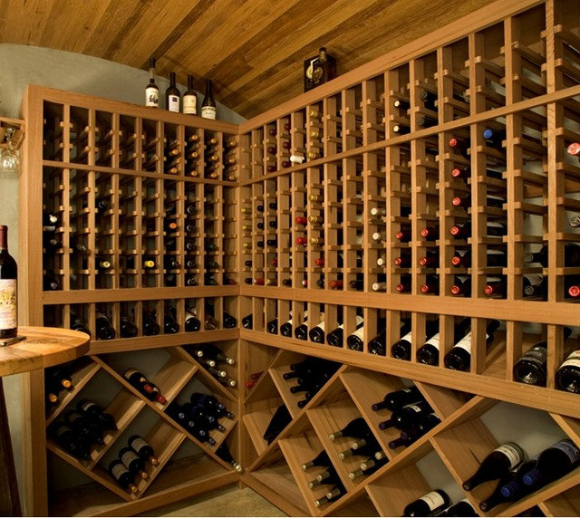 Wine Cellar by NEWwoodworks Fine Woodworking