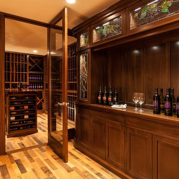 Custom Wine Cellars Boston Massachusetts Wine Tasting Room