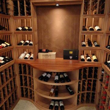 Custom Wine Cellars Rancho Santa Fe San Diego Wrought Iron Wine Cellar Door Wine