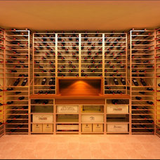 Traditional Wine Cellar by Wild Grapes Ltd