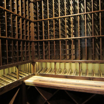 Custom Wine Racks in Texas Wine Room