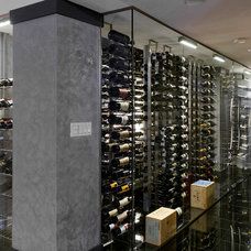 modern wine cellar by Wine Racks America