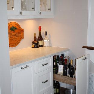 Exempel på en eklektisk vinkällare