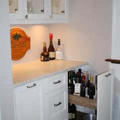 eclectic wine cellar by Hardwood Creations