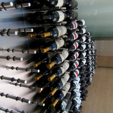 Dallas Custom Wine Cellar Ultra Peg Racking System