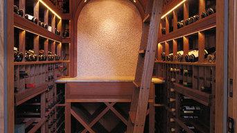 Dedicated Wine Room for a High-End Tiburon Home