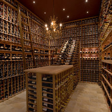Traditional Wine Cellar by Innovative Wine Cellar Designs