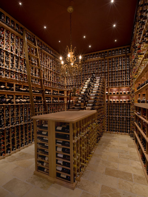 Wine cellar design ideas renovations photos with for Wine cellar in floor