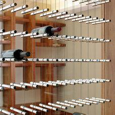 Contemporary Wine Cellar by Estudio ERRE