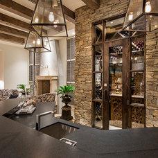 Mediterranean Wine Cellar by ArchitecTor, PC