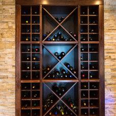 Transitional Wine Cellar by Pavan Sandhu-Anderson