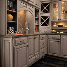 Traditional Wine Cellar by Great Kitchens & Baths