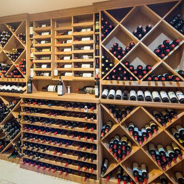 Dining Room Wine Niche