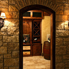 Traditional Wine Cellar by Avondale Custom Homes
